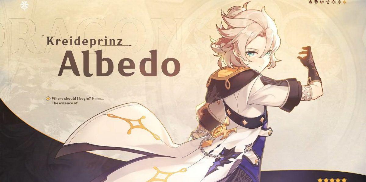 Build Albedo Genshin Impact